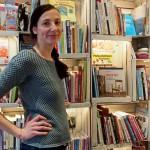 Sabine Mund in ihrem Werbuchcafe